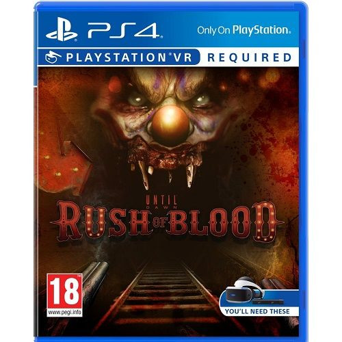 Until Dawn Rush of Blood [PSVR required] PS4 Game