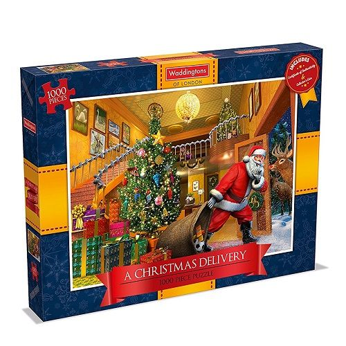 Waddingtons Christmas 1000 Piece Puzzle