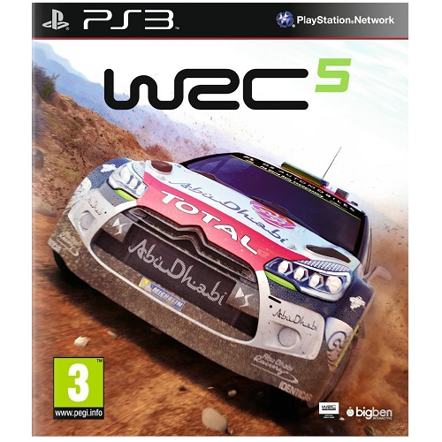 WRC 5 PS3 Game
