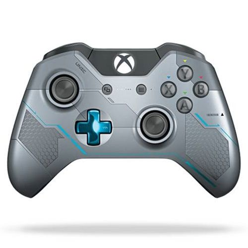 Xbox One Halo 5 Guardians Wireless Controller [Silver]