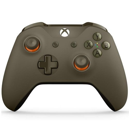 Xbox One Wireless Controller Green Orange
