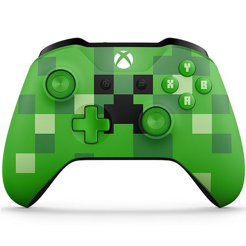 Xbox One Wireless Controller Minecraft Creeper