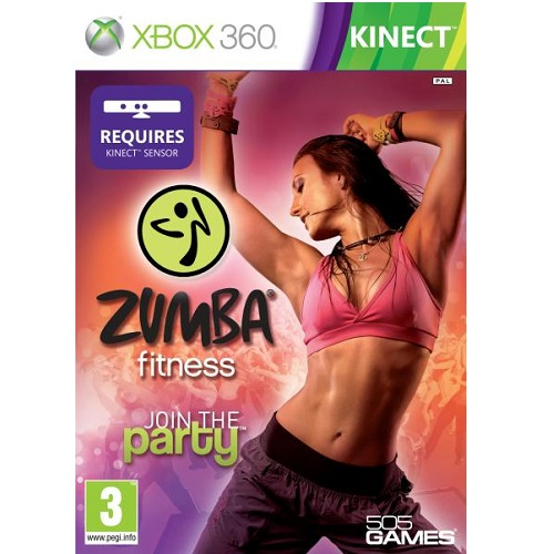 Zumba Fitness - Kinect Required Xbox 360 Game